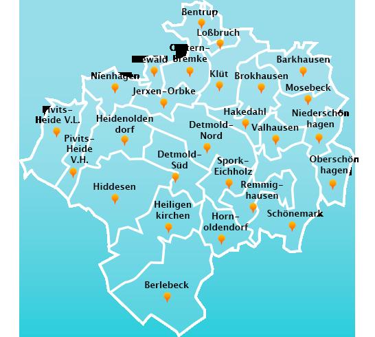 Touren Dachrinnenreinigung in Detmold